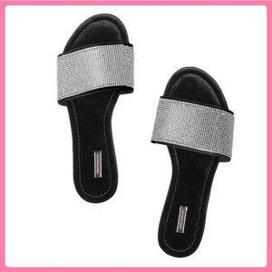 New Victoria's Secret Velvet Slides